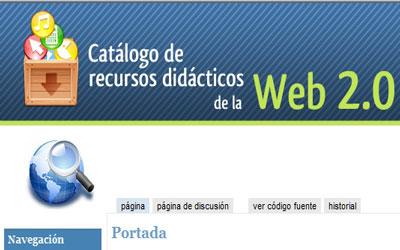 Catálogo de Recursos Didácticos de la Web 2.0