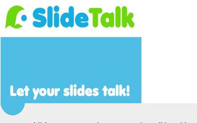 SlideTalk: Herramienta para añadir voz a las presentaciones.